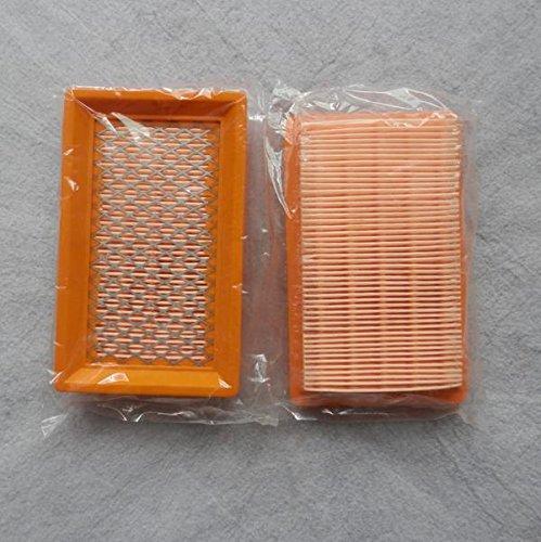 4 x Filtro de aire 145 x 88 mm) para Honda GXV140 195 serie ...