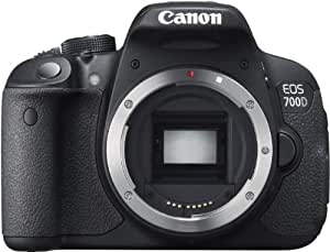 "Canon EOS 700D - Cámara réflex digital de 18.0 Mp (pantalla táctil 3.0"", vídeo Full HD), color negro - solo cuerpo"