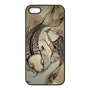 Custom Fish Design TPU Case Protector For Iphone 5 5S
