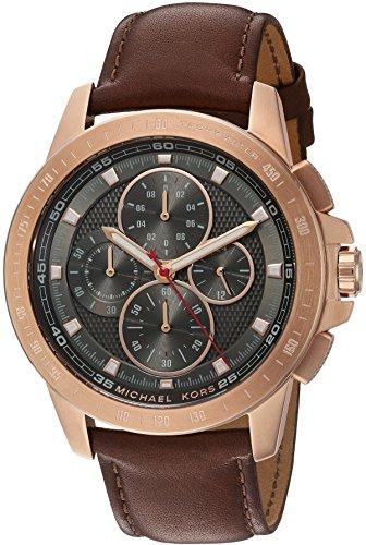 97f03f4b6156 Michael Kors Men s Ryker Rose Gold-Tone Watch MK8519