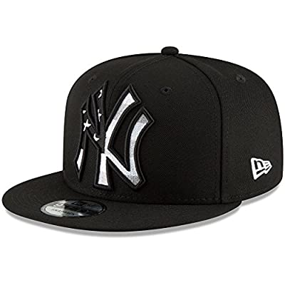 New York Yankees New Era Flag Fill 9FIFTY Adjustable Hat Black