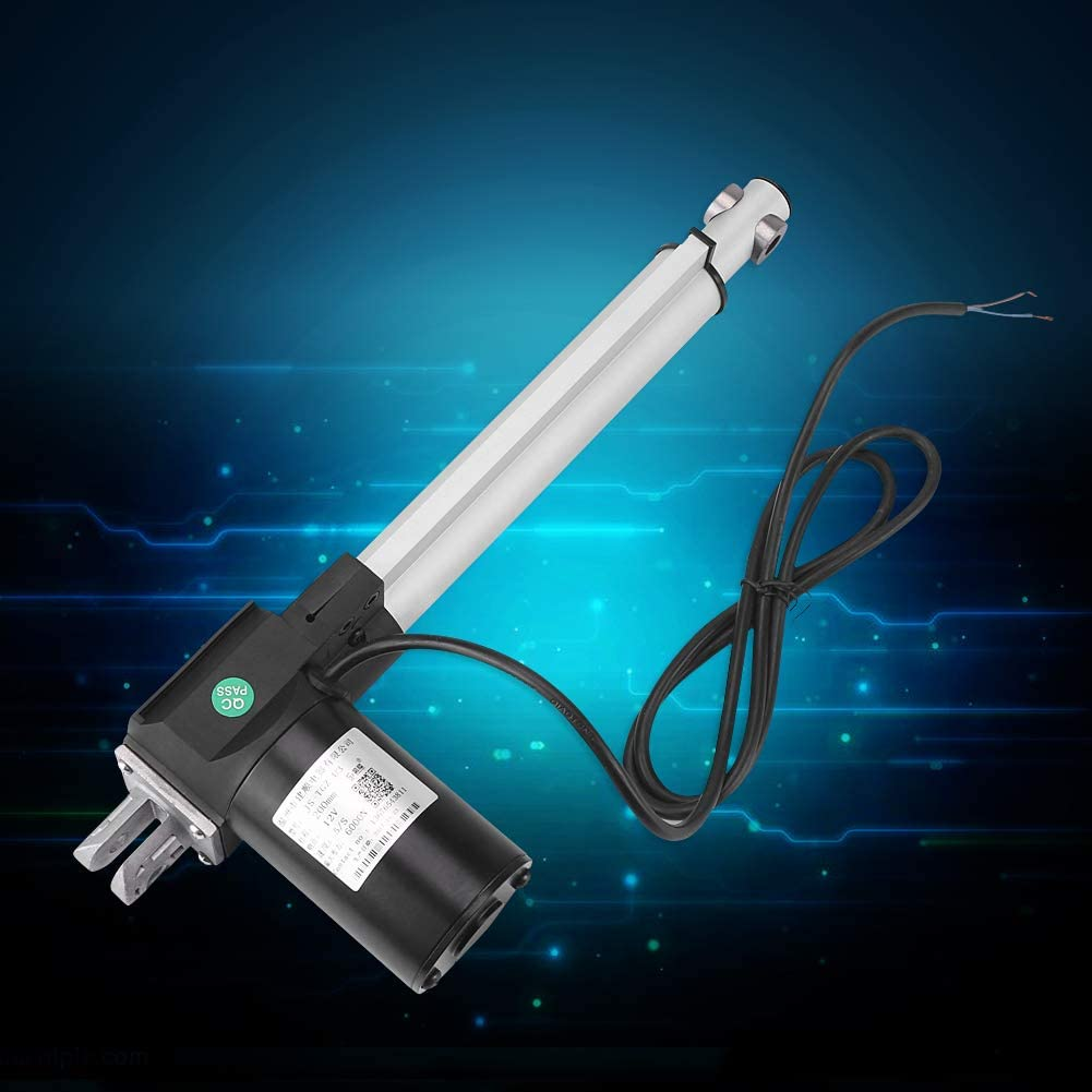 DC 12V 6000N Linear Actuator Lift Stroke High Power Electric Putter Actuator for Medical Auto Car 100mm