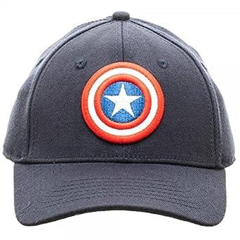 f41da48e4f1 Amazon.com  MARVEL Captain America Logo Flex Fit Active Hat NEW ...