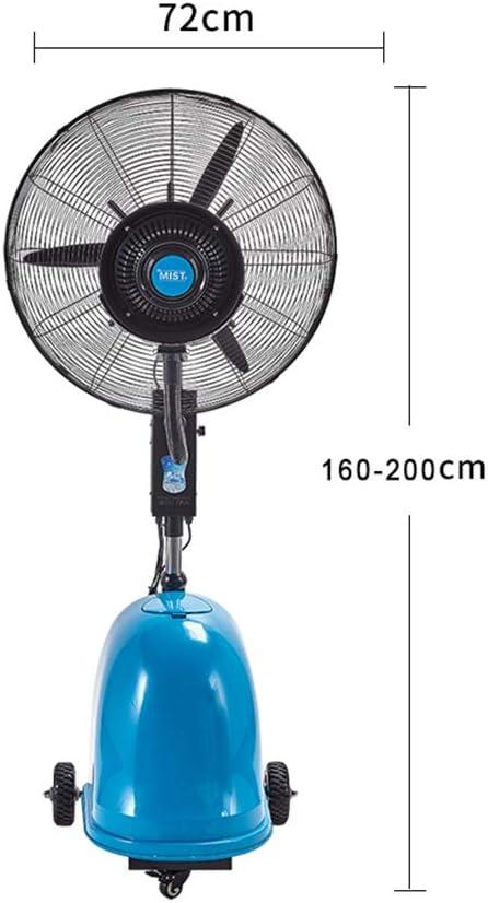 Ventilador nebulizador Exterior terraza Jardin Bar deposito Agua ...