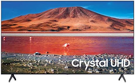 SAMSUNG 82-inch Class Crystal UHD TU-6950 Series - 4K UHD HDR Smart TV (UN82TU6950FXZA, 2020 Model)