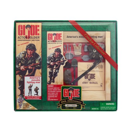 GI Joe 40th Anniversary 12 Action Soldier Set 10th in a Series