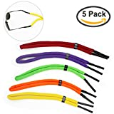 FASOTY 5 Pcs Floating Foam Glasses Strap Eyeglass Chain Eyewear Retainer Safety Strap Rope