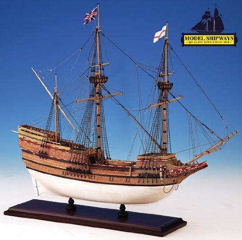 Model Shipways MS2020 Mayflower Wood/Metal Ship Kit - Model Expo