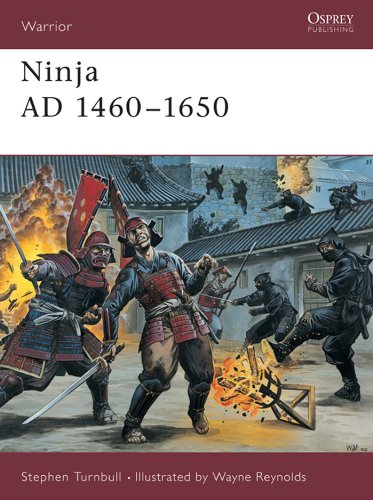 Ninja AD 1460–1650 (Warrior Book 64)