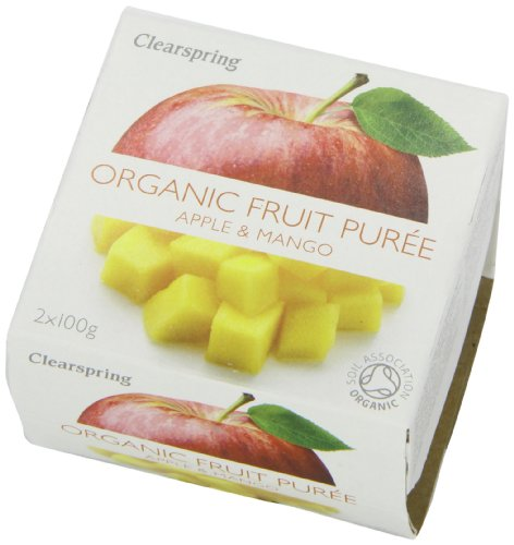 Clearspring Organic Apple and Mango Fruit Puree 2 X 100 g (Pack of 12) by Clearspring (Image #7)'
