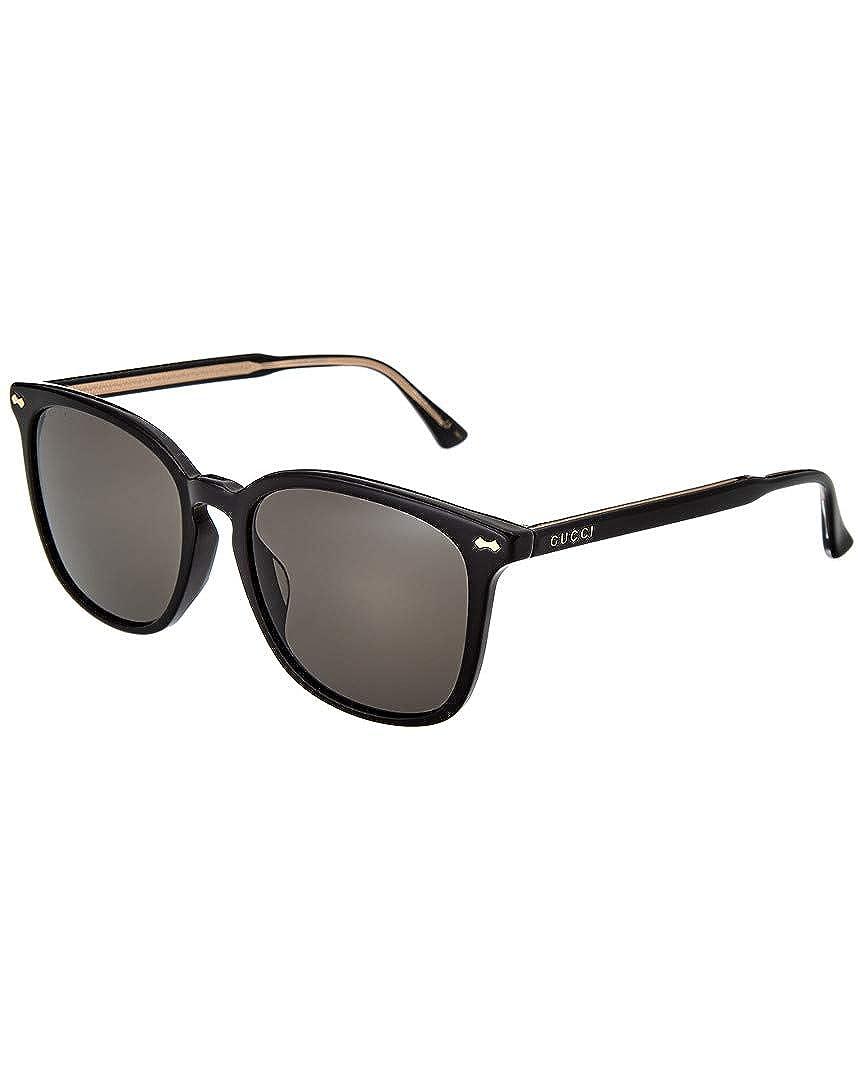 4d499c24956 Amazon.com  Gucci Womens Women s Gg0194sk-30001763001-P4890 56Mm Sunglasses   Clothing