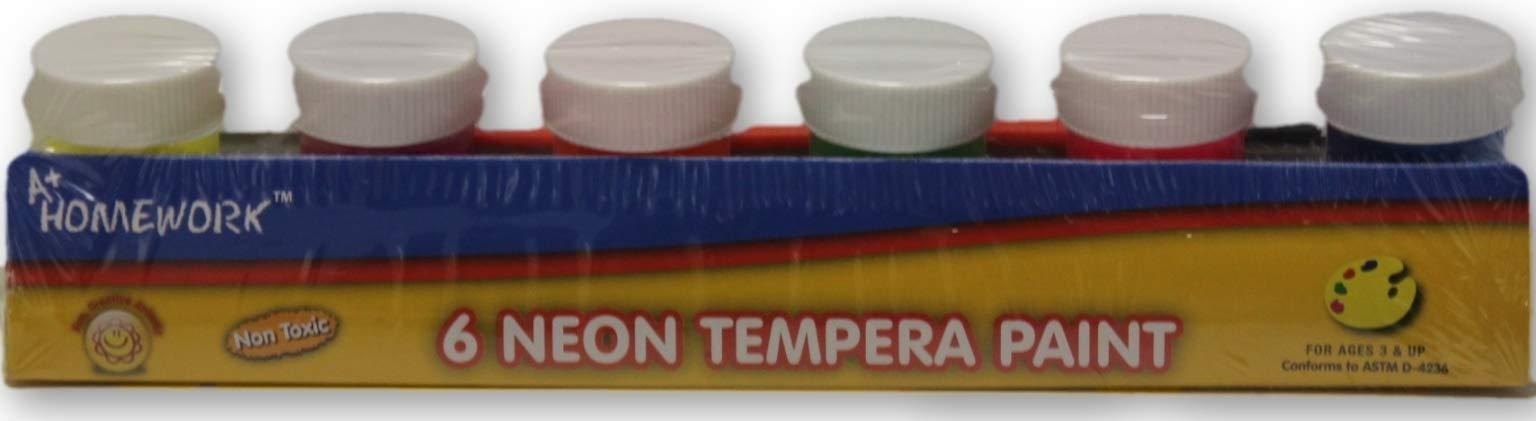 Neon Tempera Paint (Units per case: 48)