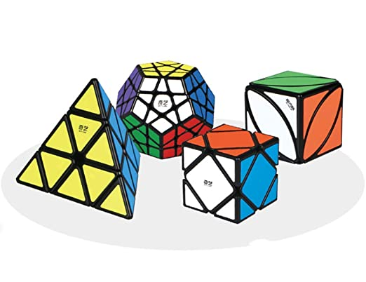 4x4 Achelous Stickerless Speed Cube Smooth Magic Cube Puzzle