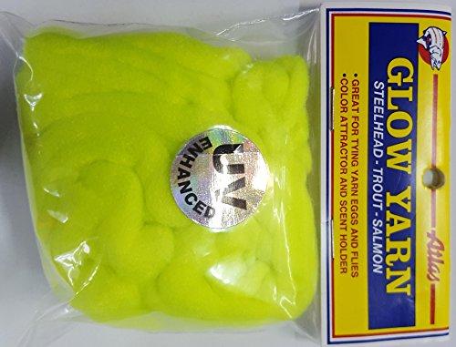 Atlas Mike's Hot UV Glow Fishing Yarn, (Atlas Glow Yarn)