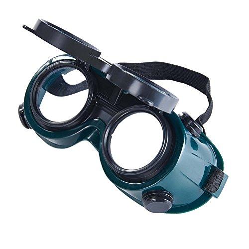 Babimax Gafas de Soldador Gafas Anti-salpicaduras Soldadura Doble Lentes Gafa Protectora Anti UV para Proteger Ojos: Amazon.es: Bricolaje y herramientas