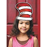 """Eureka Dr. Seuss's Cat In The Hat Wearable Hat Cut-Out, 32 Hats, Approx 8"""" Tall Each"""