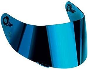 AGV K-3 SV & K-5 Motorcycle Helmet Shield Visor Windscreen Clear Tint ALL SIZES (XS,S,MS, Iridium Blue – GT2-1)