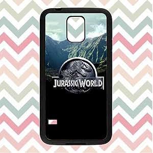 Samsung Galaxy S5 I9600 Jurassic World Case,Ant-Scratch Slim Case Charming Patr¨®n