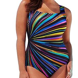 zhouweiwei Spina Dimensione Donne Sexy Stampa Floreale Bikini Costumi da Bagno Donna Costume da Bagno Costume da Bagno… 5 spesavip