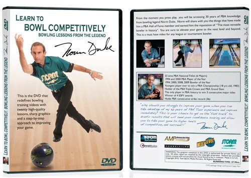 - Norm Duke - Learn to Bowl Competitively DVD