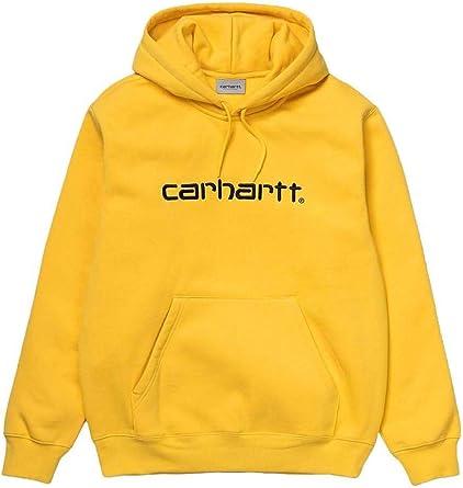 sweat shirt homme jaune