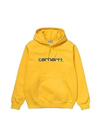 1e924adc4b45 Carhartt Sweat Sweat à Capuche Jaune Homme  Amazon.fr  Vêtements et  accessoires