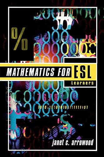 Mathematics for E.S.L. Learners