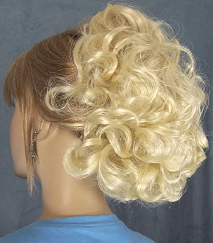DAWN Clip On Hairpiece by Mona Lisa - 613 Bleach Blonde