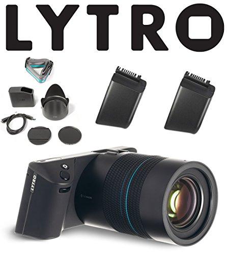 Lytro Illum Light Field Digital Camera Bundle w/ Lytro B2-0022 Lithium Ion Battery Pack