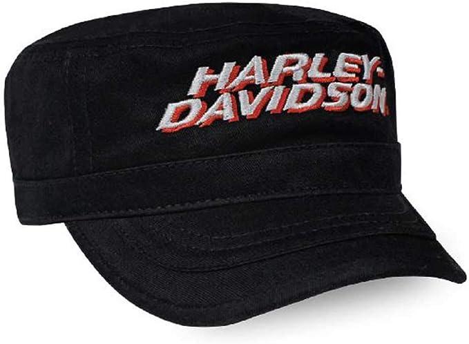 Harley-Davidson PC03564 - Gorra de Pintor para Hombre, Color Negro ...