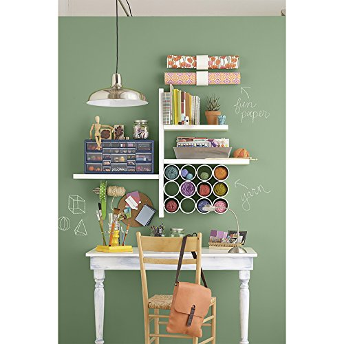 Style Selections 35.4-in W x 1.5-in H x 7.87-in D Wood Wall Mounted Shelving by Style Selections (Image #2)
