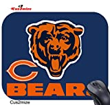 Chicago Bears Mouse Pad Chicago Bears Mousepad, Sold by Cus2mize 0719896137027
