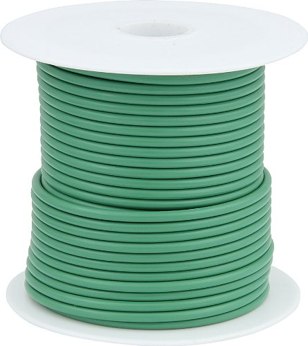 Allstar Performance (ALL76553) 14 AWG Primary Wire, Green, 100' (Panel Tailight)