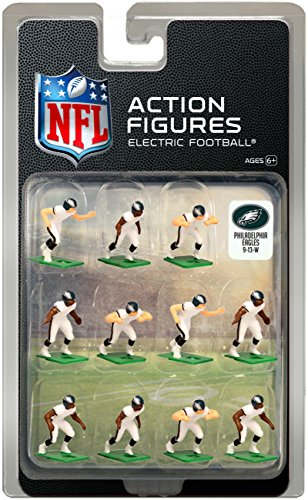 Philadelphia Eagles Away Jersey NFL Action Figure Set ()