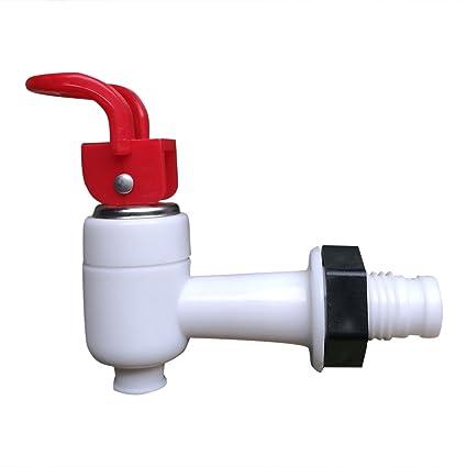 2pcs Grifo de Agua Corriente Reemplazo para Dispensador de Agua Azul Y Rojo: Amazon.es: Hogar