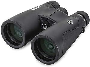 Celestron – Nature DX ED 10x50 Premium Binoculars – Extra-Low Dispersion (ED) Objective Lenses – Multi-Coated Optics –Phase-Coated BaK-4 Prisms – Binoculars for Bird Watching, Black, Model:72335