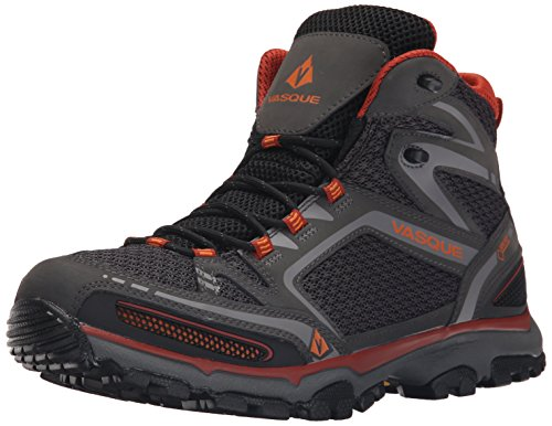Vasque Inhaler II Gore-Tex - Botas de Senderismo para Hombre, Magnet/Orange, 9 M US