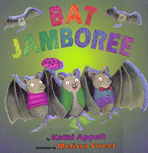 Bat Jamboree (Halloween Preschool Art Ideas)