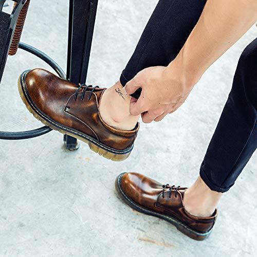Brown Uomo Nero EU Nero Stivali Style 40 Punk wxS07