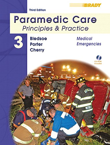 Paramedic Care: Principles & Practice : Medical Emergencies: 3