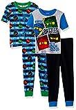 LEGO Boys Ninjago 4-Pc Pajama, 2 Sets Sleeve, Long Pant