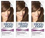 Clairol Nice n Easy Hair Color #76 Light Golden Brown, UK Loving Care (Pack of 3) + FREE Old Spice Deadlock Spiking Glue, Travel Size.84 Oz