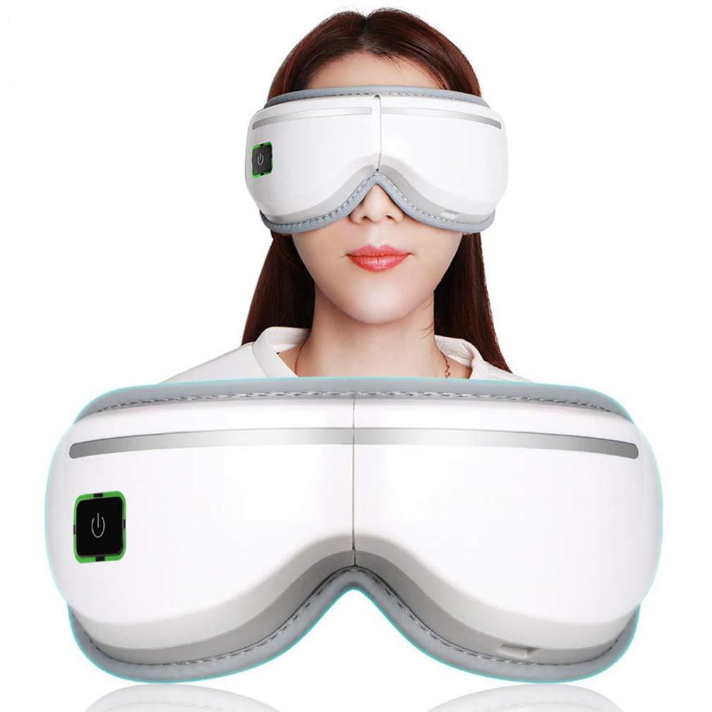 CJB18 Electric Eye Massager,Hot-Compress Eye Care Wireless Eye Massager,Relax Eyes Reduce Dark Circles Improve Sleeping
