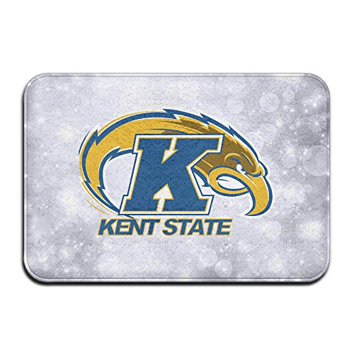 EVALY Kent State University Athletic Logo Home Furnishing Pet NonSlip Rug 23.6Lx15.7W (Kent State Basketball Rugs)