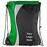 Color Splash Drawstring Bag - 50 Quantity - $5.65 Each - PROMOTIONAL PRODUCT / BULK / BRANDED with YOUR LOGO / CUSTOMIZED