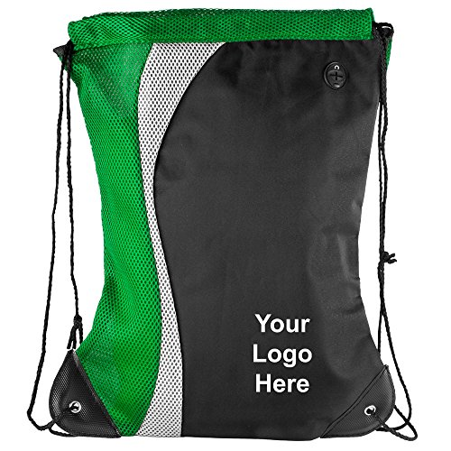 Color Splash Drawstring Bag - 50 Quantity - $5.65 Each - PROMOTIONAL PRODUCT / BULK / BRANDED with YOUR LOGO / CUSTOMIZED by Sunrise Identity