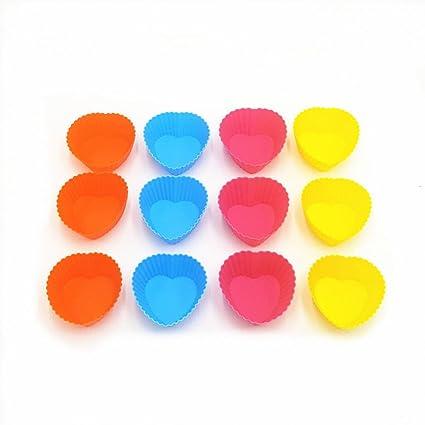 Tazas de jabón hecho a mano Juego de 12 piezas de molde de silicona en forma