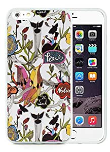 iPhone 6 Plus 5.5 inches Sakroots 20 White Screen TPU Cellphone Case Beautiful and Nice Design