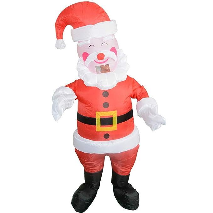 Amazon.com: Disfraz hinchable de Santa Claus Elk de Navidad ...