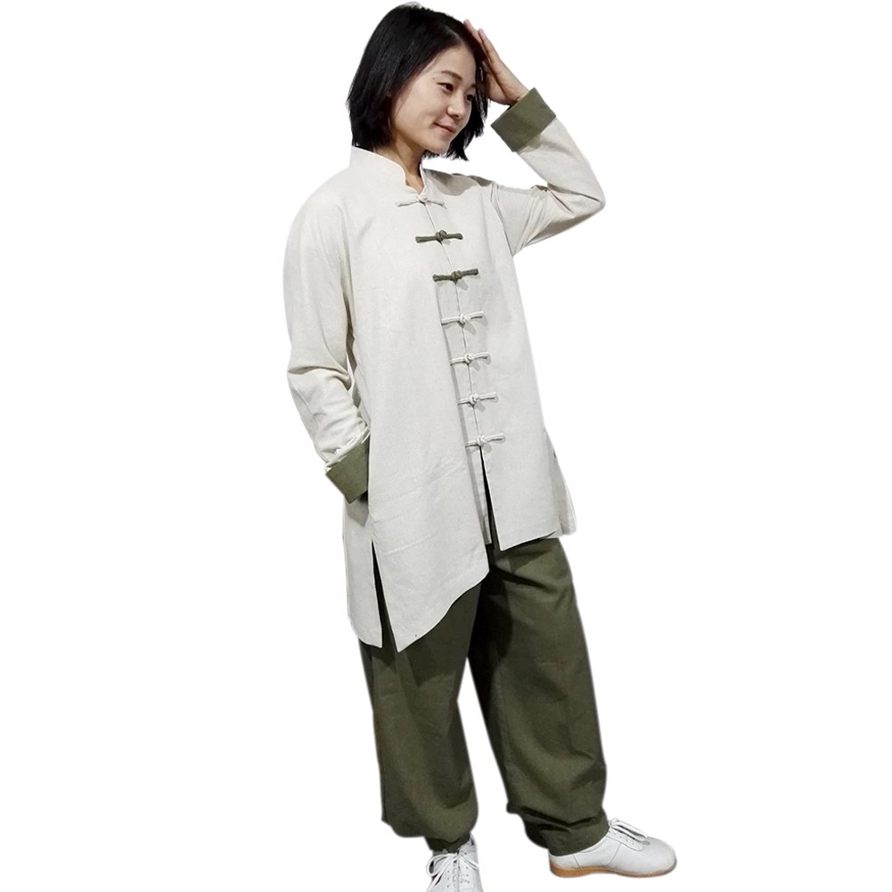 124ca15d5 Amazon.com : BlueSkyDeer Women's Meditation Clothing Tai Chi Clothes Kung  Fu Outfit Can Be Customized : Sports & Outdoors